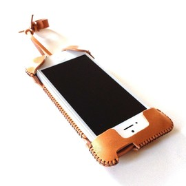 abicase, アビケース - iPhone 5/5s cawa ウォレットジャケット・プラス