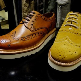 GRENSON x iNTHEMiDDLE Archie Brogue Crepe Sole
