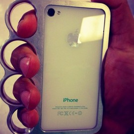 Knuckle case - Knuckle Case for iPhone 4&4S