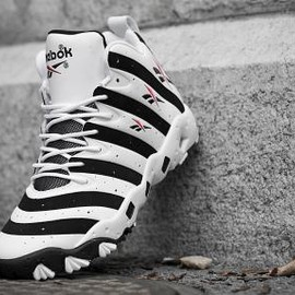 Reebok - Reebok BIG HURT WHITE/BLACK