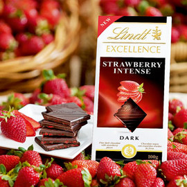 Lindt - Lindt Strawberry Intense
