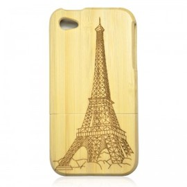 ohneed - White Bamboo IPhone4/4S Case- The Eiffel Tower