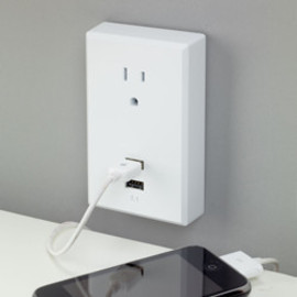 RCA - USB wall plate charger