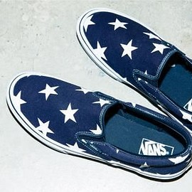 VANS - SOPHNET. × VANS SLIP-ON INDIGO & STAR