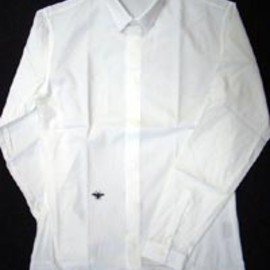 DIOR HOMME - Tiny Collar White Shirt
