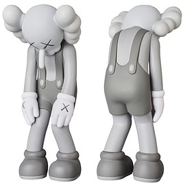KAWS, MEDICOM TOY - KAWS SMALL LIE GREY