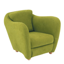 MINI MILLER - ARM CHAIR GREEN