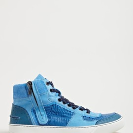 Lanvin - Lanvin Men's Mid High Basket Sneakers