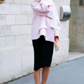 pale pink/style