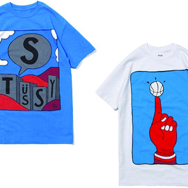 STUSSY - Stussy x Parra 2012 T-Shirt Collection