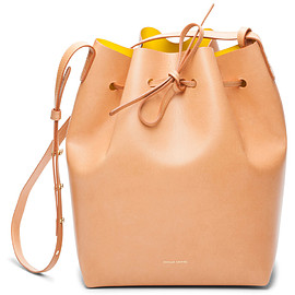 MANSUR GAVRIEL - BUCKET BAG CAMMELLO/SUN