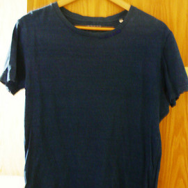 BlueBlue Okura - Indigo Stitch T-shirt