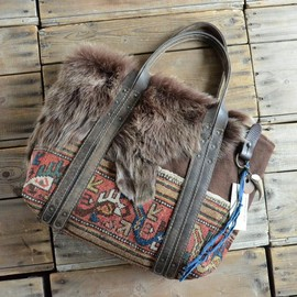 J.AUGUR DESIGN - Tote Bag Carpet&Shearling