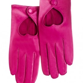 minna paricca - Minna Parikka Heart Driving Glove fuchsia