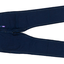 THE NORTH FACE PURPLE LABEL - COOLMAX Stretch Denim Webbing Belt Pants-ID