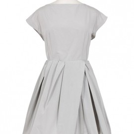 CARVEN - GREY SERGE TULIP DRESS 1