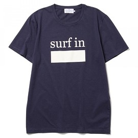 CUISSE DE GRENOUILLE - CUISSE DE GRENOUILLE×BEAMS LIGHTS / 40th別注 surfプリントTシャツ