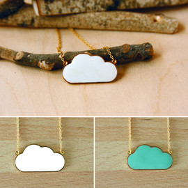Hug A Porcupine - Cloud Necklace