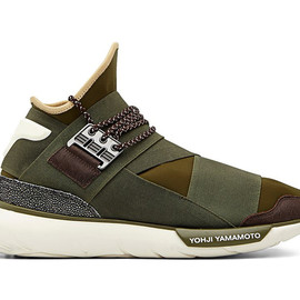 Y-3 - Image of Y-3 Qasa High Olive/Khaki