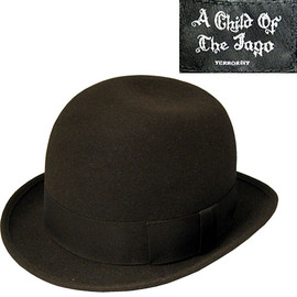 A CHILD OF THE JAGO - A Child Of The Jago Bowler Hat / Derby Hat ア チャイルド オブ ザ ジャゴー ボーラーハット/ダービーハット