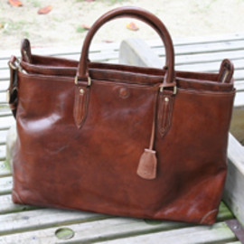 aniary - aniary レザー・2WAYブリーフトート 【Compilation Leather  2WAY  brief tote bag】 / cl-01-01-r