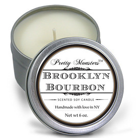 Pretty Monsters - Brooklyn Bourbon Soy Candle