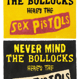 MEDICOM TOY - MLE SEX PISTOLS NEVER MIND RAG MAT