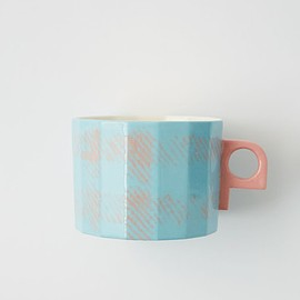 Acne Studios - Acne Studios limited edition blue cup inspired by the FW18 scarves