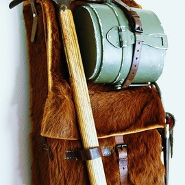 Swiss Military Rucksack - Vintage Winter Museum - Swiss Military Rucksack c 1923