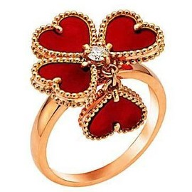 Van Cleef & Arpels - Four Leaf Clover Ring
