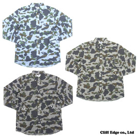 A BATHING APE - 1ST CAMO X GINGHAM CHECK 長袖シャツ