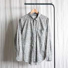 TROVE - INSIDE SHIRT - liberty tex. #mix gray
