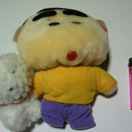 Shin-chan - Shin-chan shinchan toy plush dog