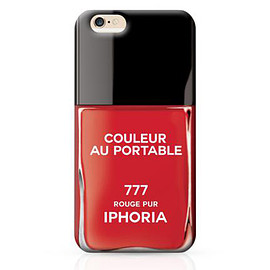 IPHORIA - Couleur Rouge Pur iPhone 6 Plus