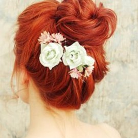 MInt roses & red hair