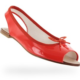 repetto - Open toe ballerina Vog Patent leather Cheri