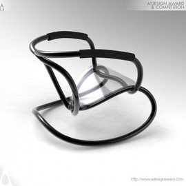 Hong Zhu - Wire Rocking Chair