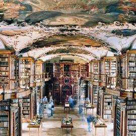 Abbey Library of St. Gallen in Switzerland - Abbey Library of St. Gallen in Switzerland