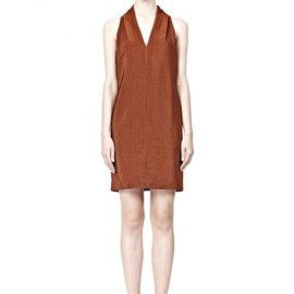 ALEXANDER WANG - FOLDED V-NECK TANK DRESS
