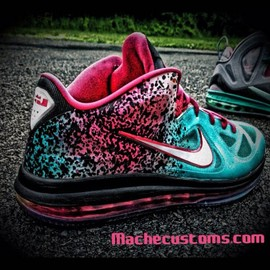 Nike - Nike Lebron 9 Low - 'Miami Nights' Custom