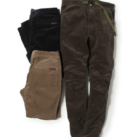 nonnative - CLIMBER EASY PANTS - C/P CORD STRETCH by GRAMICCI