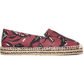 Isabel Marant - Étoile Canaee printed canvas espadrilles