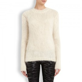 McQ - Chunky knit mohair and wool blend jumper
