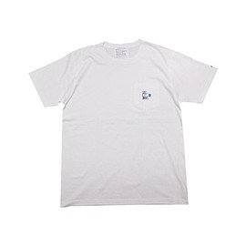 LIBE BRAND UNIVS. - TBH POCKET TEE (White)