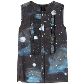 MARC BY MARC JACOBS - Stargazer cotton and silk top
