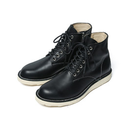SOPHNET. - 7 HOLE ZIP UP WORK BOOTS
