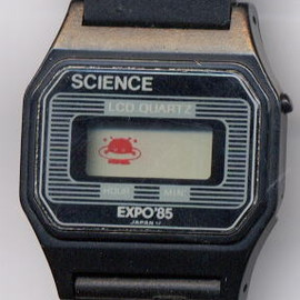EXPO '85 - コスモ星丸 SCIENCE LCD QUARTZ