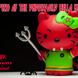 Kidrobot - Empress of the Underworld Hello Kitty - Frank Kozik