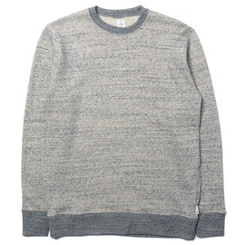 HEAD PORTER PLUS - Heather Sweat Blue