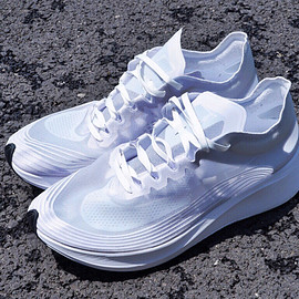 NIKE, NIKE Lab - Zoom Fly SP Triple White